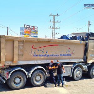 מצבר למשאית